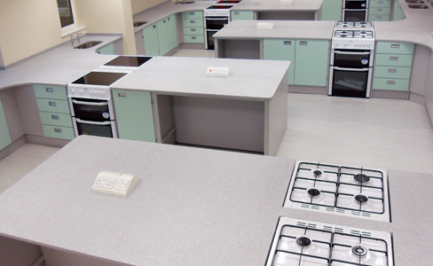 food technology classroom furniture by interfocus