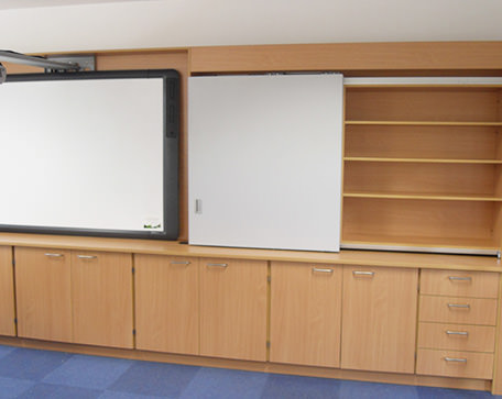 teaching wall furniture