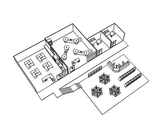 school 3D cad design layout   interfocus building works
