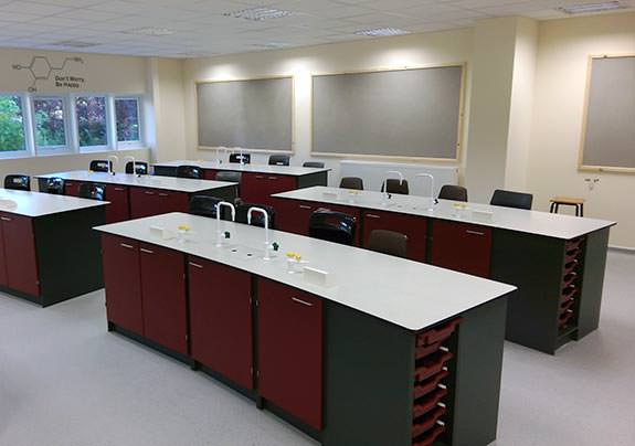we provide complete turnkey science classroom solutions