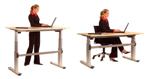 height adjustale tables