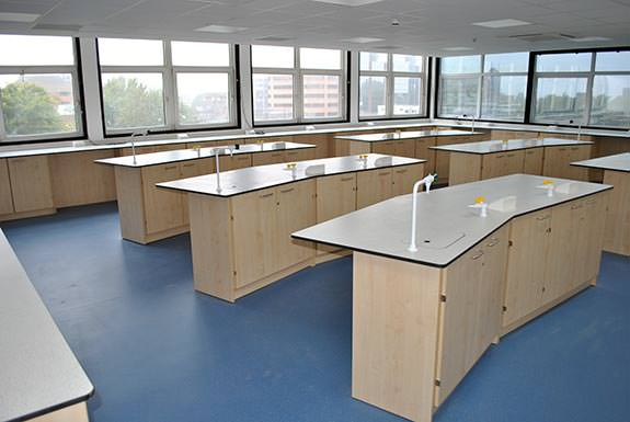 harrow college school science classroom turnkey building works