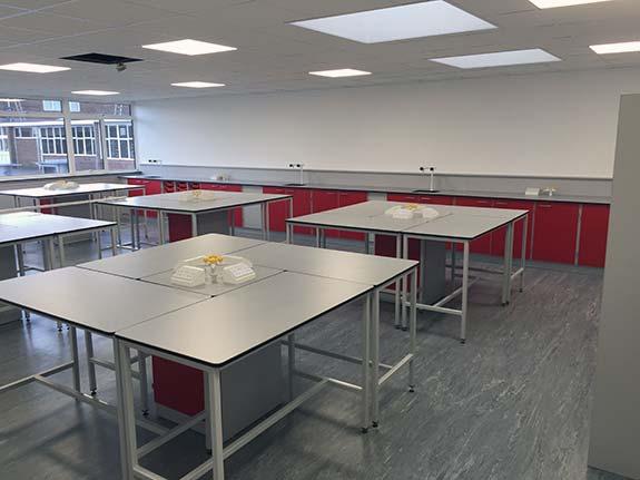 school classroom flooring