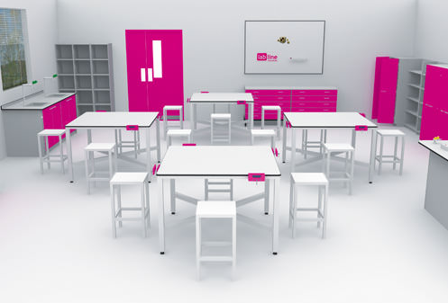 interfocus design and technology classroom furniture