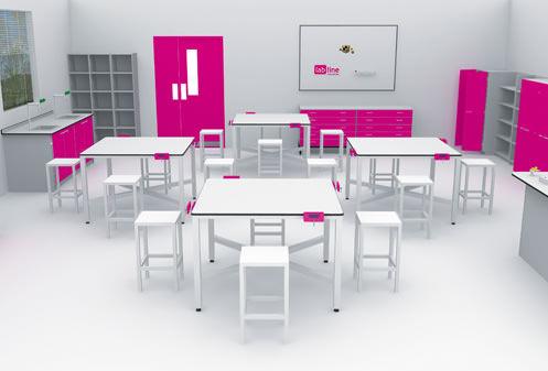 Design Technology Classrooms - InterFocus School Laboratory Furniture