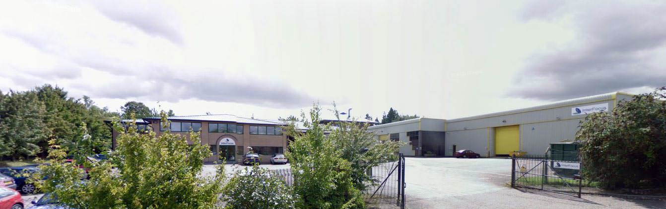 interfocus office and factory site in linton cambridge