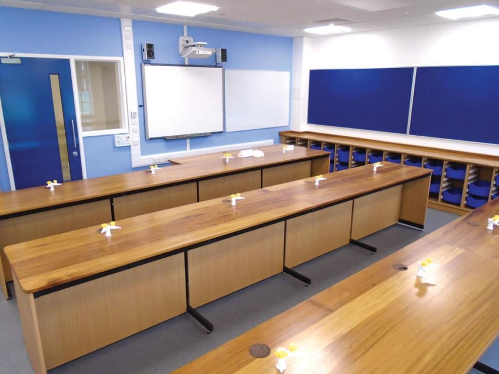 iroko science classroom
