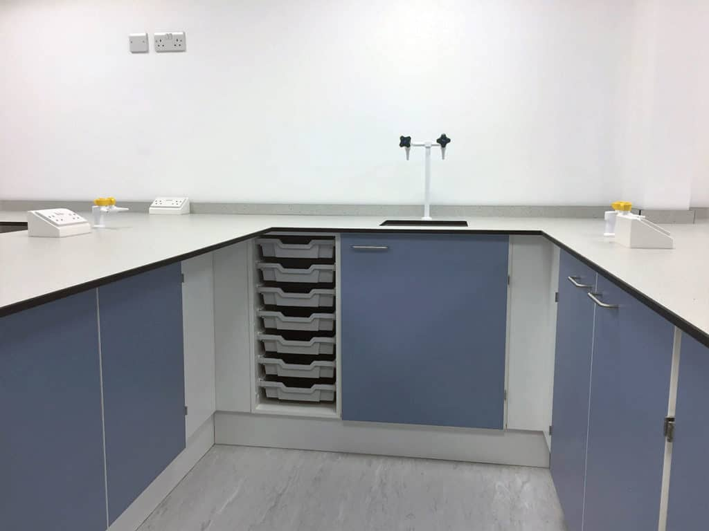 school storage furniture for labs