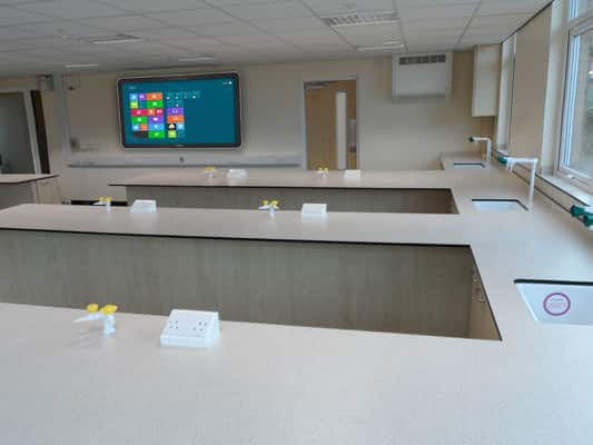 peninsula and iwall classroom furniture