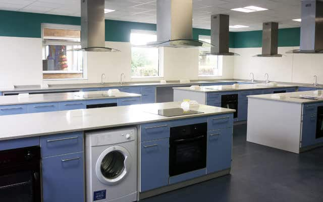 food technology classroom for schools and colleges