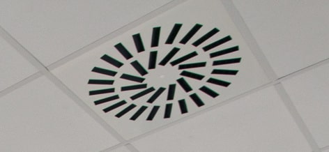 ceiling air distribution