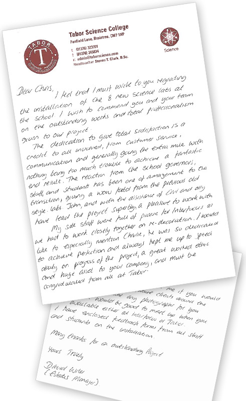 feedback customer letter