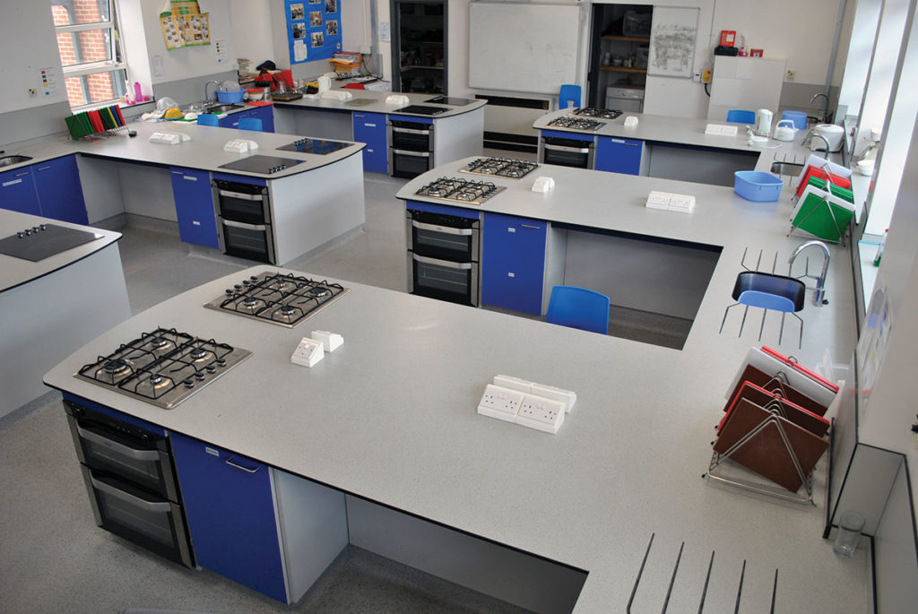 food technology classroom furniture