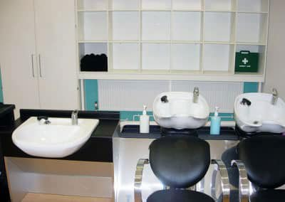 hairdressing salon classroom
