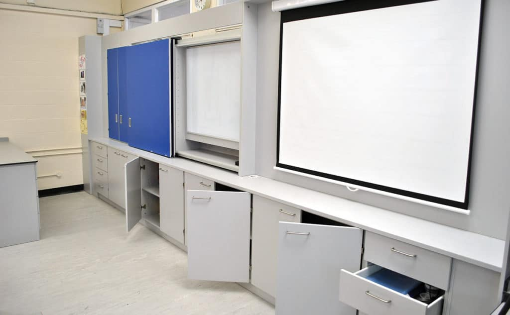 multiple storage iwall teacher wall