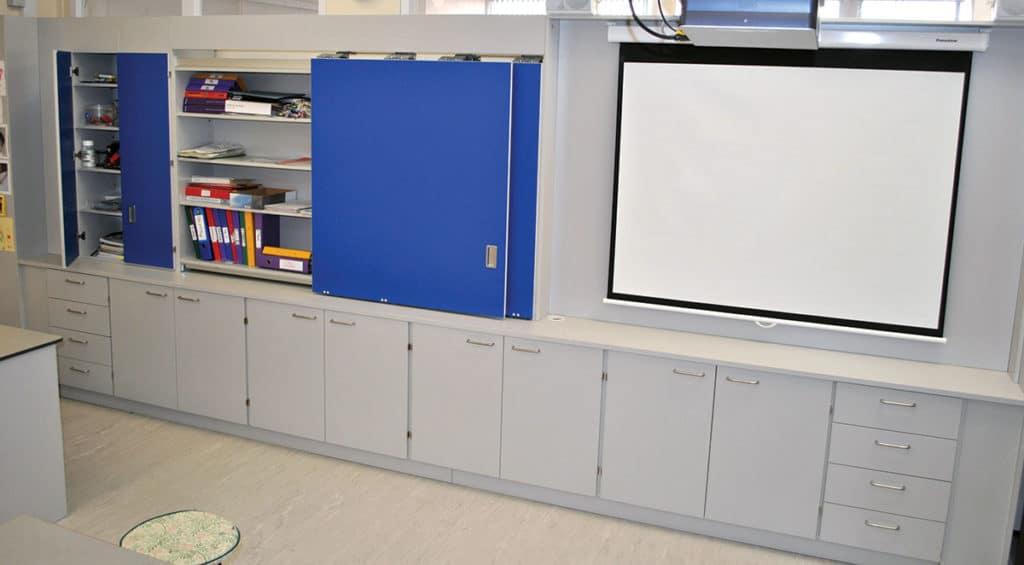 iwall teacher wall storage solution
