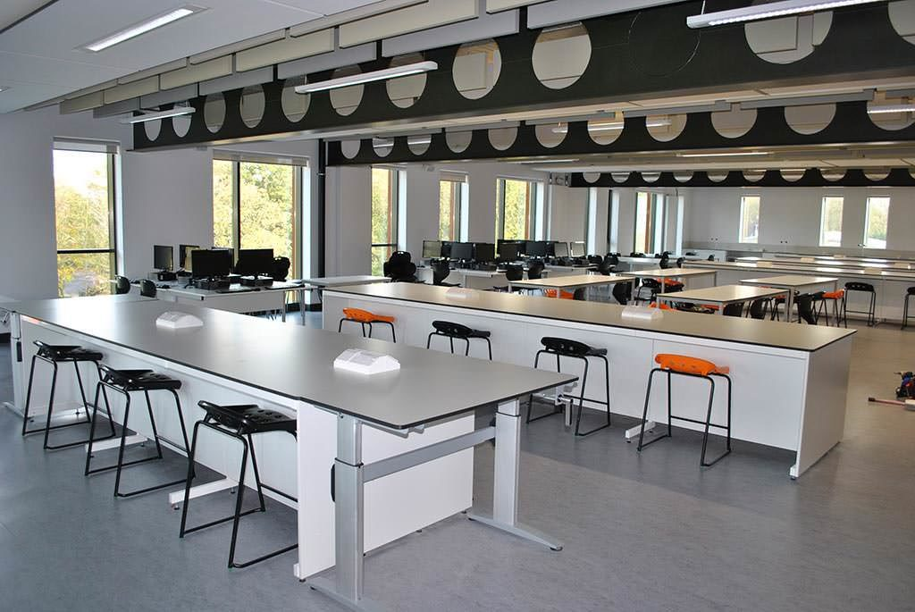large teaching science lab