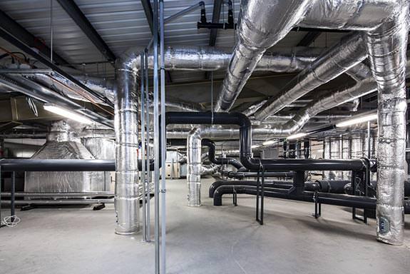 HVAC plant room