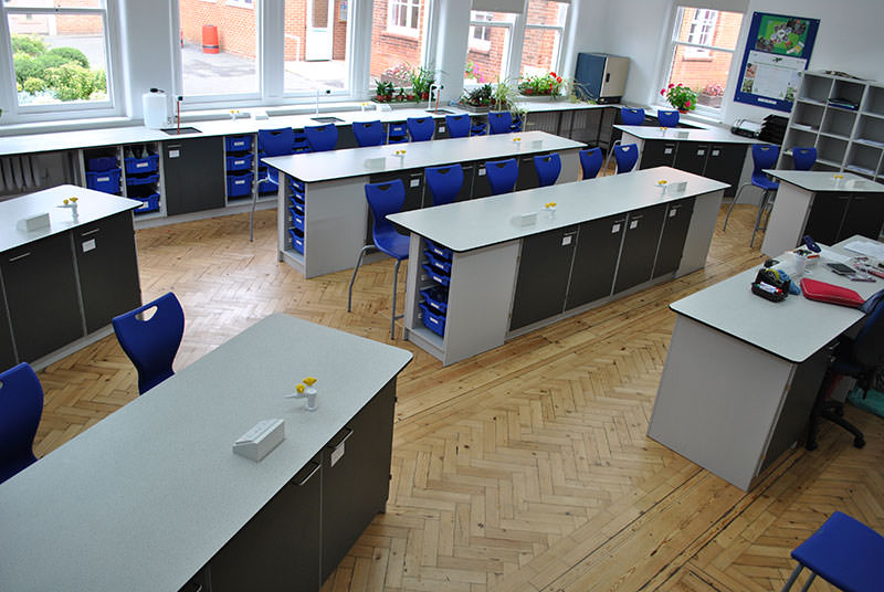 wing system classroom furniture layout