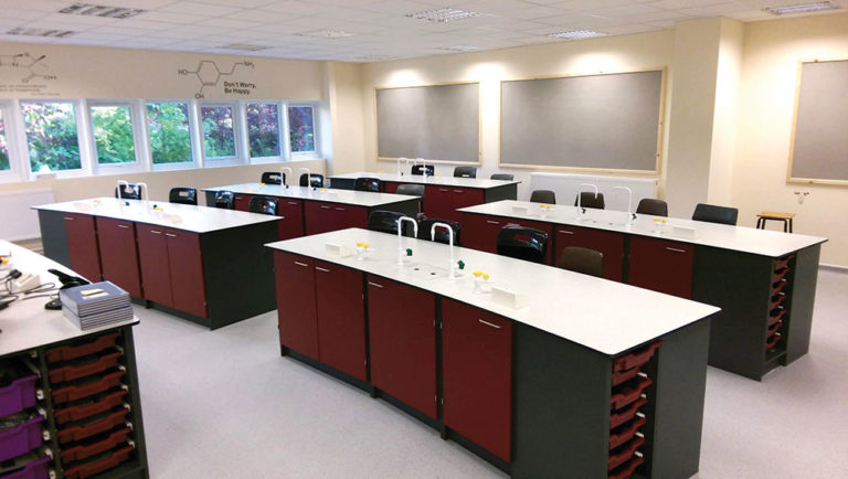 science classroom wing solution