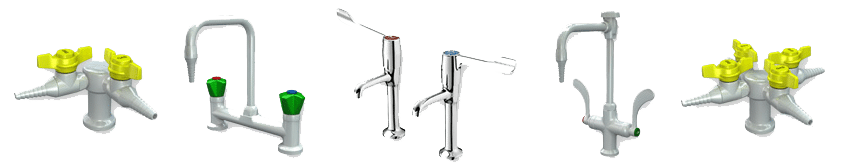 laboratory taps and fittings