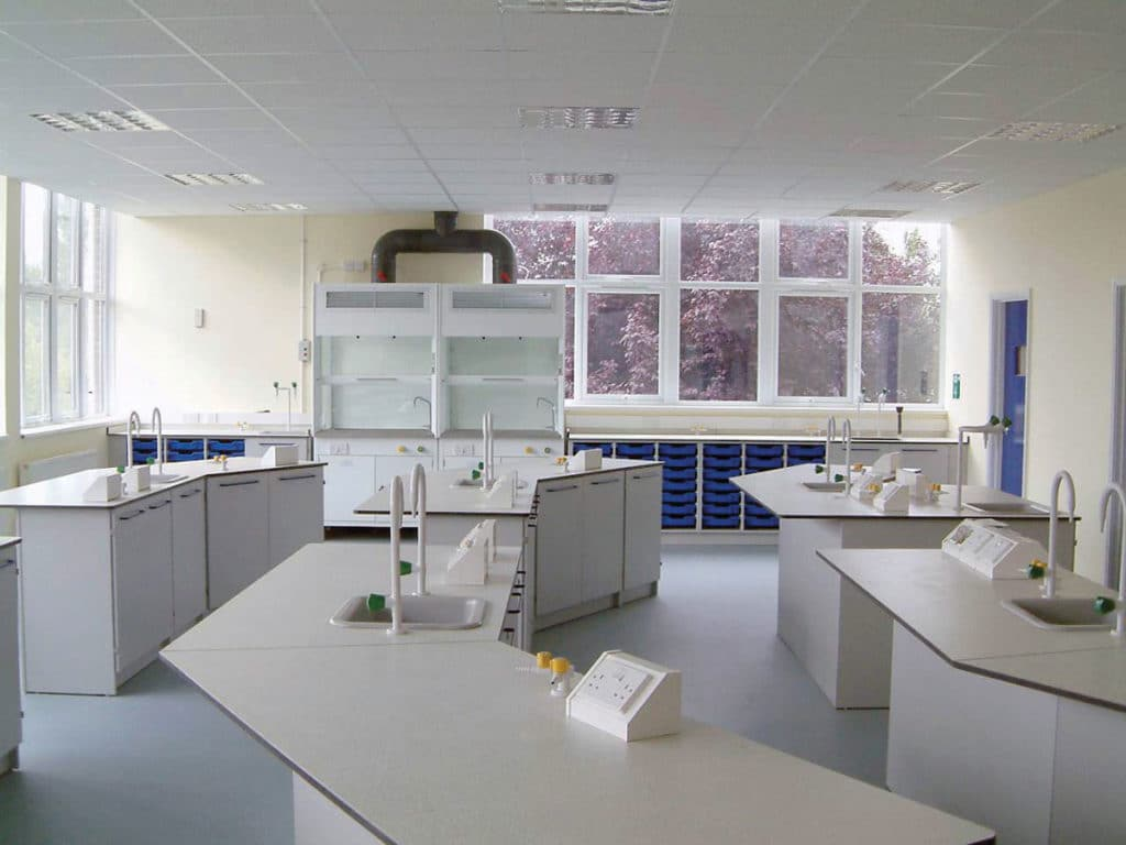 Science lab furniture for schools and colleges